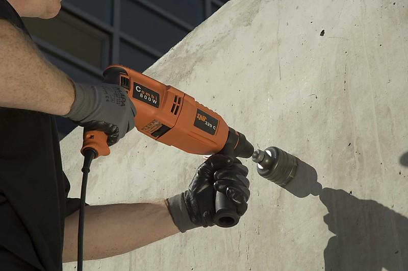 дрель сверление бетона